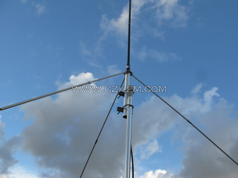 Quarter wavelength New GP Antenna 87-108MHZ -50Watt with 15 meter cable - Click Image to Close