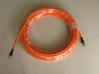 20 Meter Ericsson RG-8 / U 50-7 coaxial cable With N -type connector